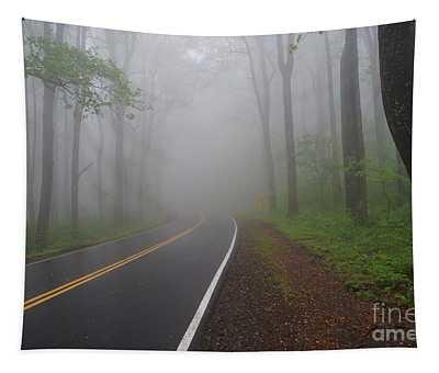 Heavy Fog Ahead Tapestry