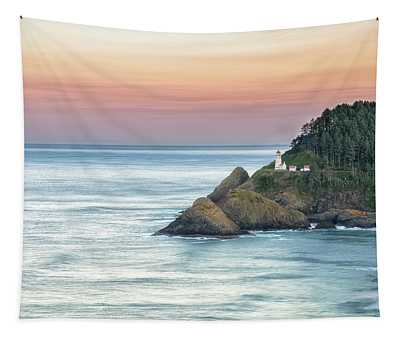 Heceta Lighthouse Tapestry