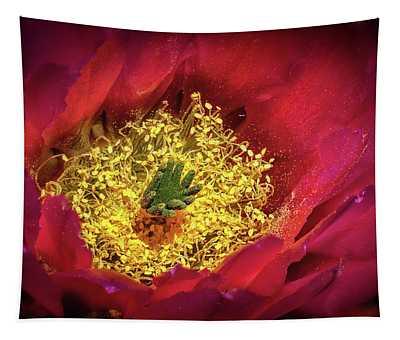 Hedgehog Bloom Tapestry