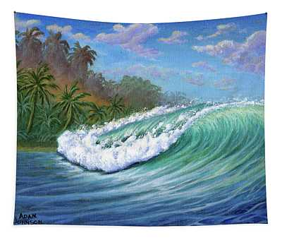 He'e Nalu Tapestry