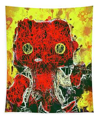 Hellboy Tapestry