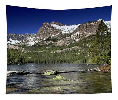 Hell Roaring Lake Sawtooth Wilderness Tapestry