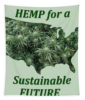 Hemp For A Sustainable Future Tapestry