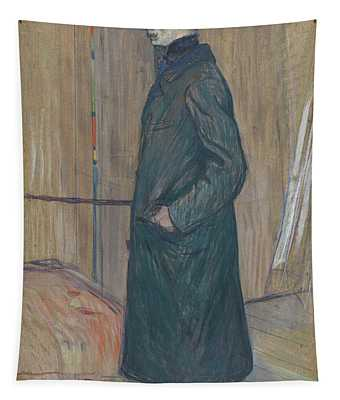 Henri De Toulouse-lautrec -albi, 1864-langon, 1901-. Gaston Bonnefoy -1891-. Oil On Cardboard. 71... Tapestry