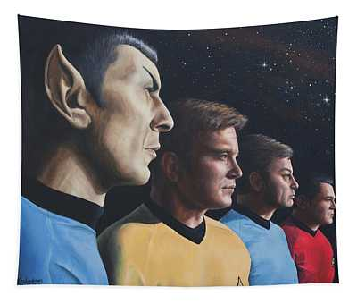 Heroes Of The Final Frontier Tapestry