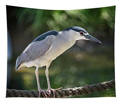 Heron On A Rope Tapestry