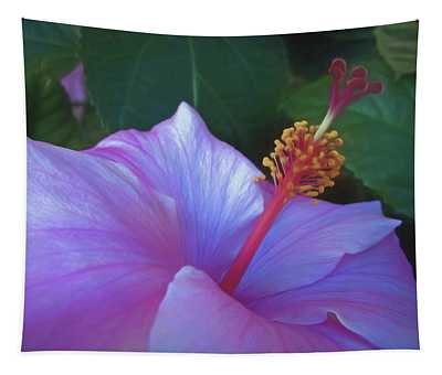 Hibiscus Grace 5  Tapestry