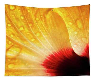 Hibiscus Petals Tapestry
