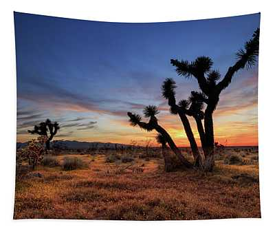 High Desert Sunset Tapestry