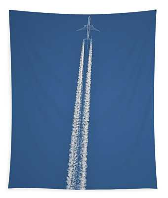 High Flight -- Emirates Air Boeing 777 Tapestry