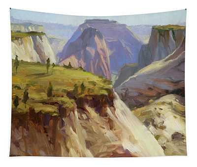 High On Zion Tapestry