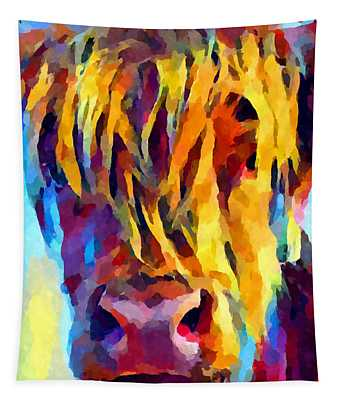 Highland Cow 5 Tapestry