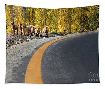 Highway Story Tapestry