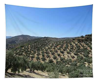 Hills Near Iznajar Tapestry