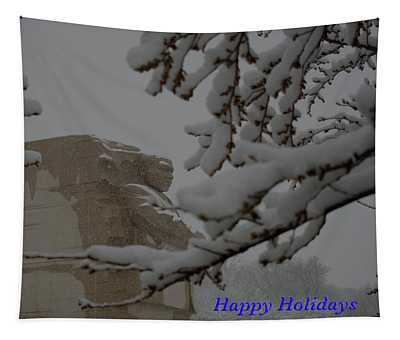 Holdays At The Martin Luther King Memorial Tapestry