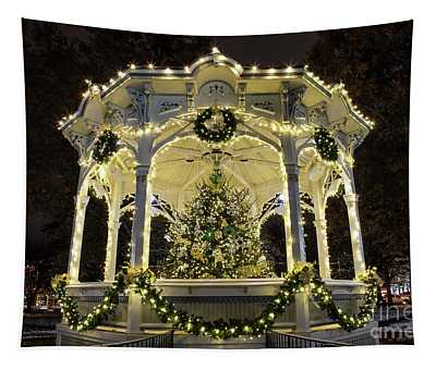 Holiday Lights - Gazebo Tapestry