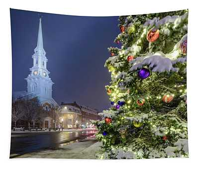 Holiday Snow, Market Square Tapestry