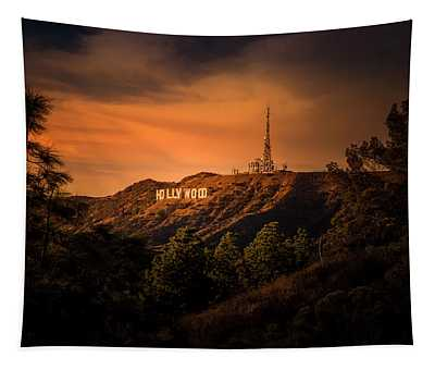Hollywood Sunset Tapestry