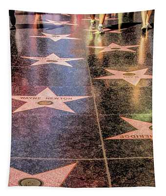 Hollywood Walk Of Fame Tapestry