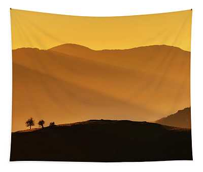 Holy Mountain Tapestry