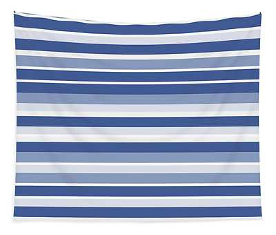 Horizontal Lines Background - Dde607 Tapestry