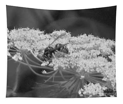 Hornet Queen Anne's Lace Tapestry