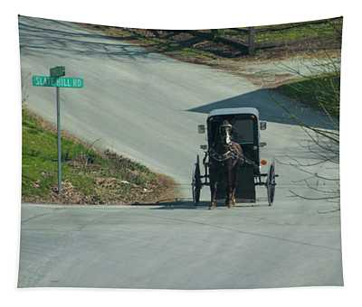 Horse And Buggy - Amish Country - Lancaster County Tapestry