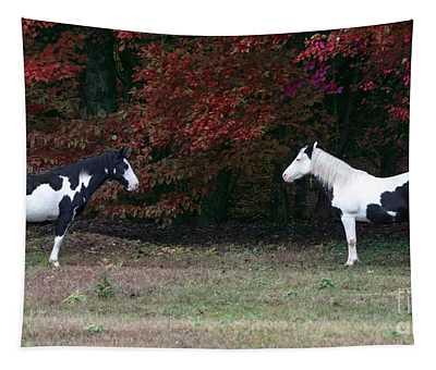 Horse Meditation Tapestry