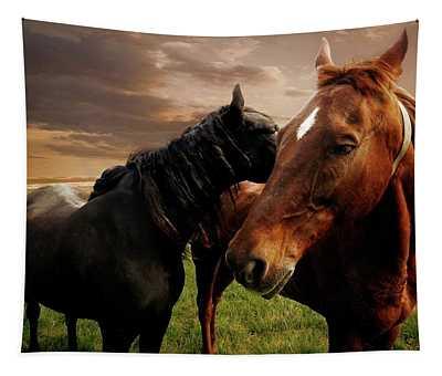 Horse Whisperers  Tapestry