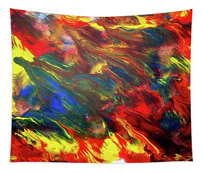 Hot Colors Coolling Tapestry