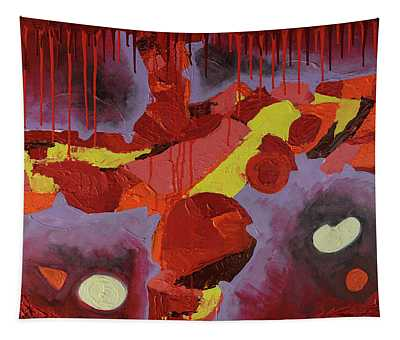 Hot Red Tapestry