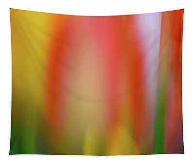 Hot Tulip Tapestry