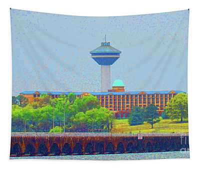 Hotel And Restaurant In Florence Alabama Tapestry