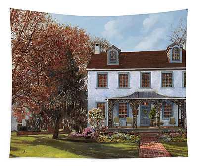 house Du Portail  Tapestry