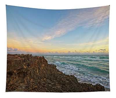 House Of Refuge Beach 6 Tapestry