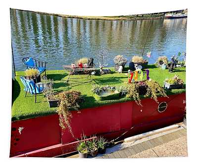 Houseboat Tapestry