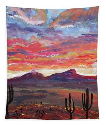 How I See Arizona Tapestry