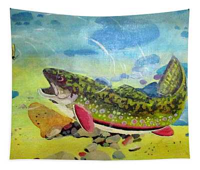Hungry Trout Tapestry