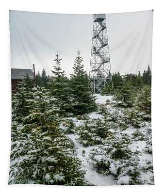 Hunter Mountain Fire Tower Tapestry