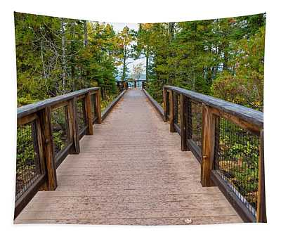 Hunter's Point At Copper Harbor Tapestry