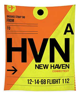 Hvn New Haven Luggage Tag I Tapestry
