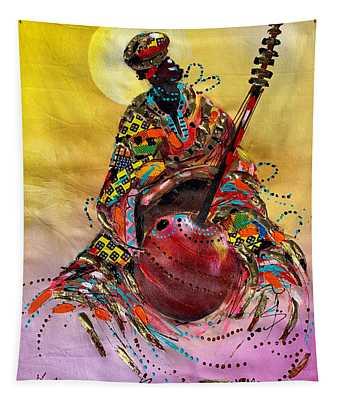 I Love Music Tapestry