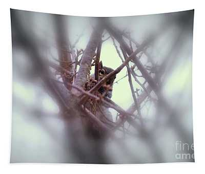 Tapestry featuring the photograph I See You by Patti Whitten