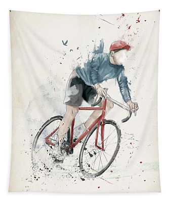 I Want To Ride My Bicycle Tapestry