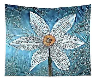 Ice Ornithogalum Tapestry
