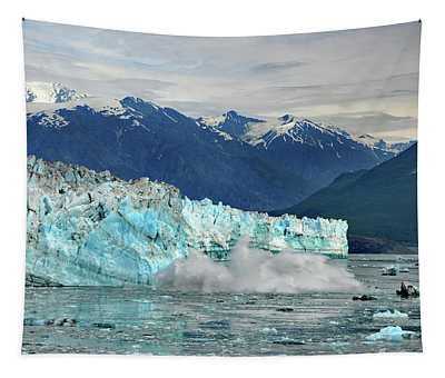 Iceberg Splash Hubbard Glacier Tapestry