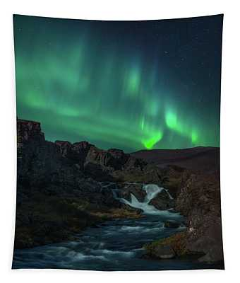 Icelandic Flows Tapestry