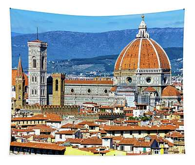 Iconic Florence View Tapestry