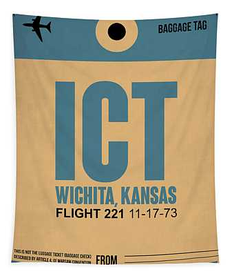 Ict Wichita Luggage Tag I Tapestry