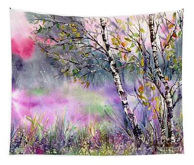 Idyllic Meadow Tapestry